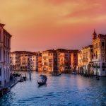 Palazzi Canal grande Venezia